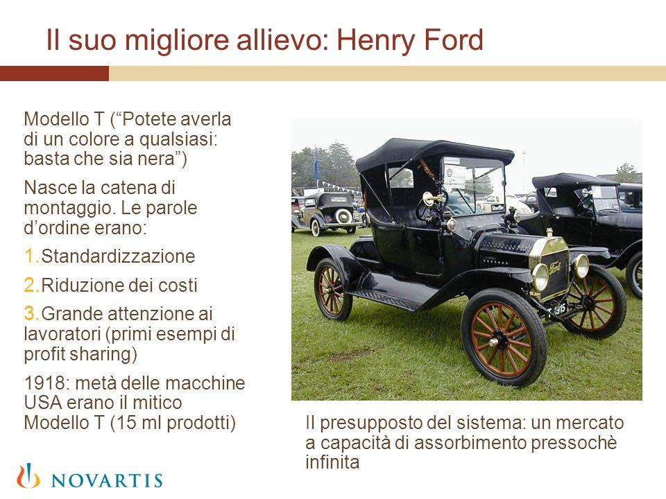 Il suo migliore allievo: Henry Ford