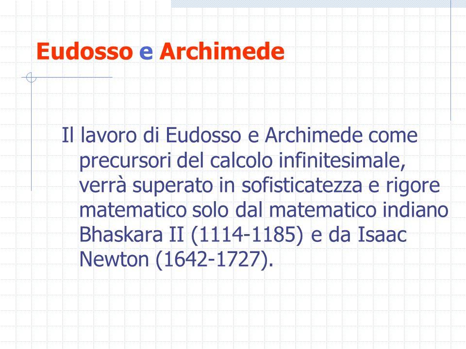 Eudosso e Archimede