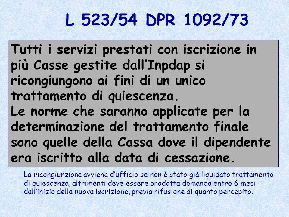 L 523/54 DPR 1092/73