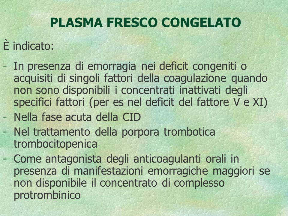 PLASMA FRESCO CONGELATO