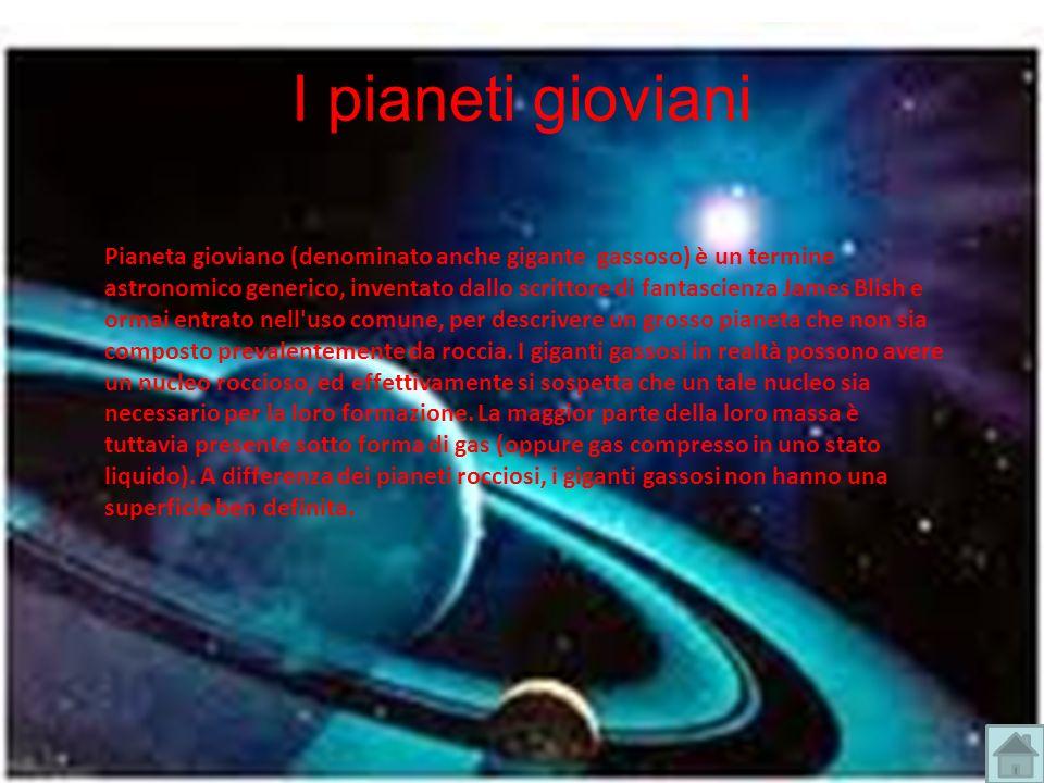 I pianeti gioviani