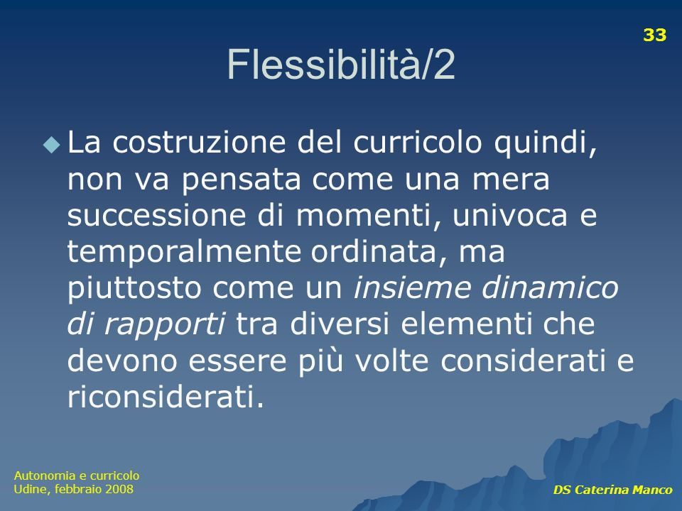 Flessibilità/2
