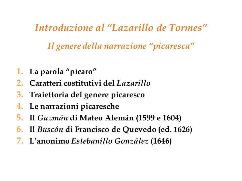 Introduzione al Lazarillo de Tormes