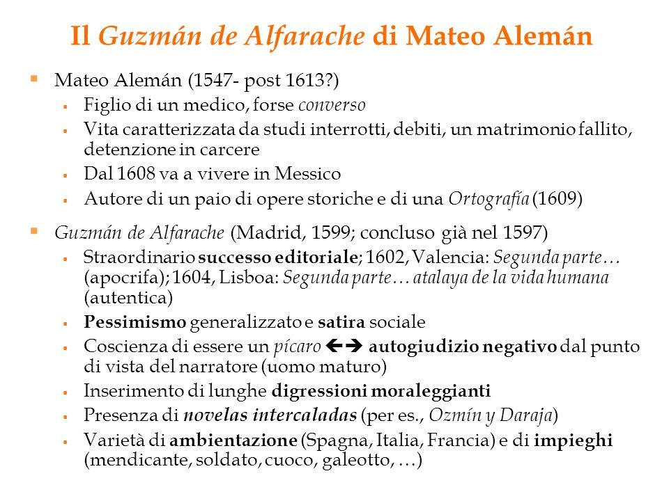 Il Guzmán de Alfarache di Mateo Alemán