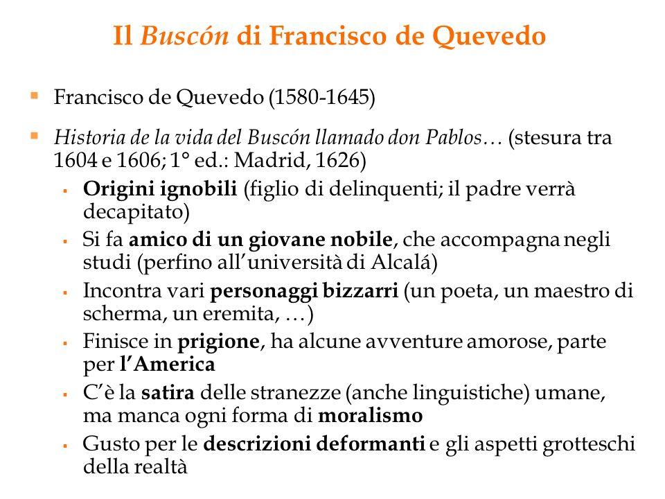 Il Buscón di Francisco de Quevedo