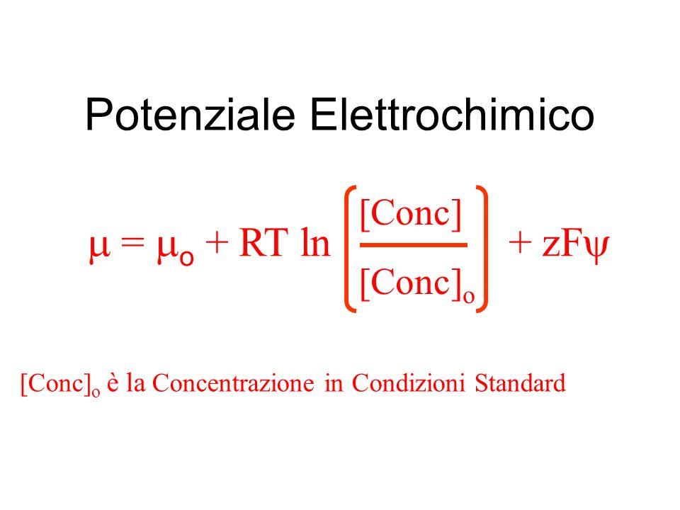 Potenziale Elettrochimico