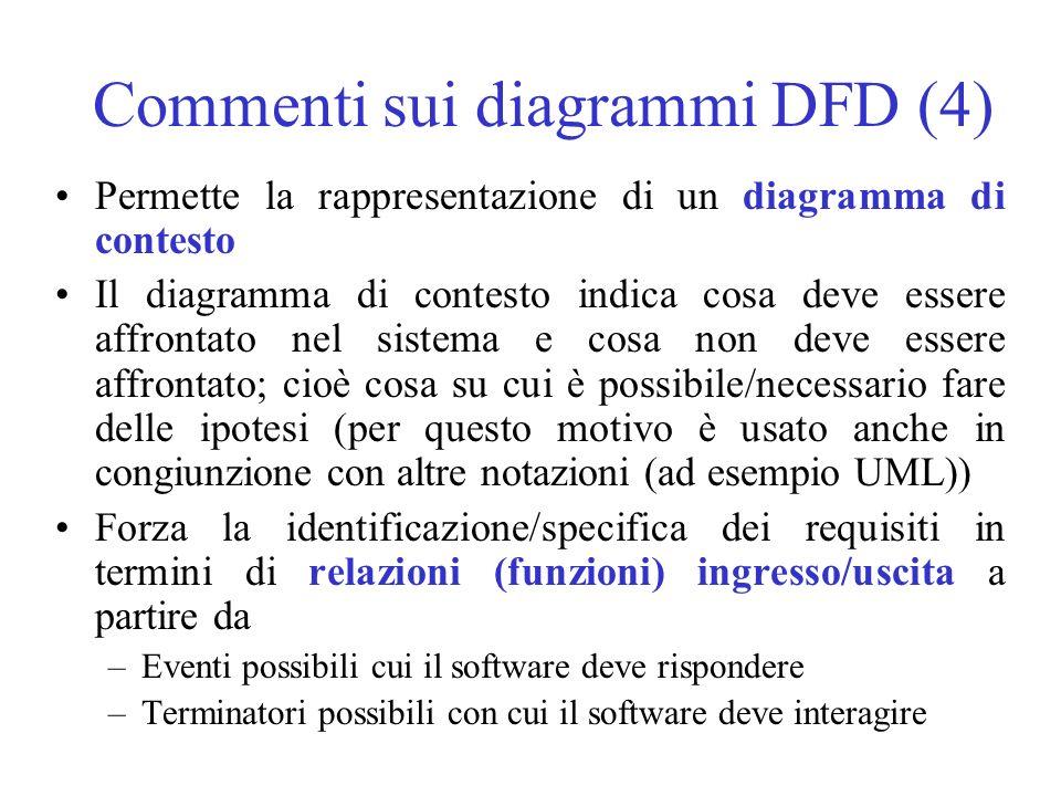 Commenti sui diagrammi DFD (4)