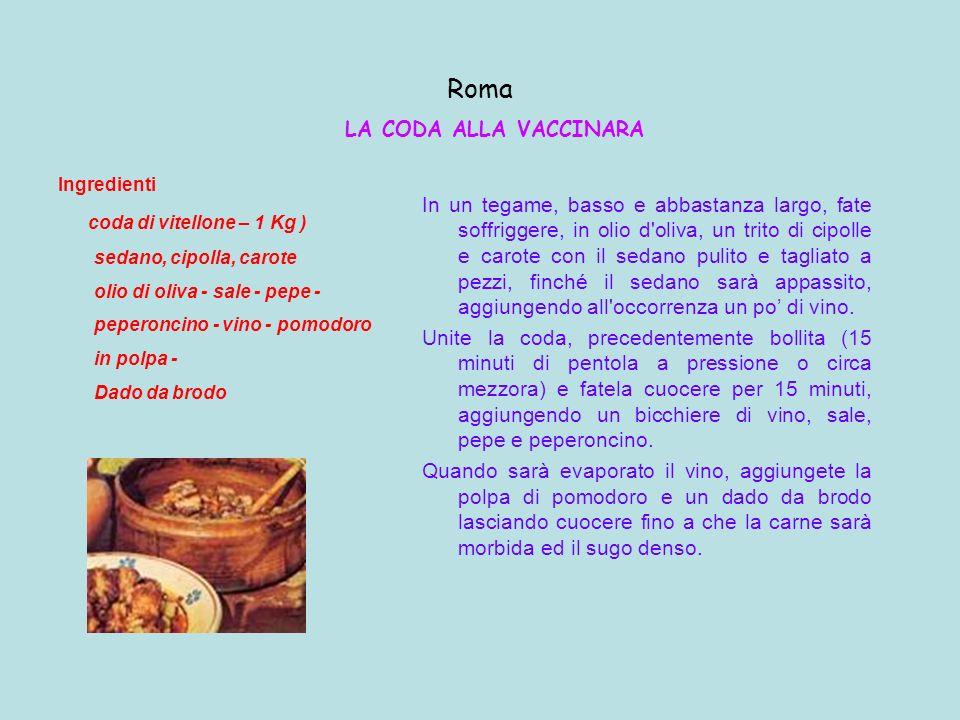 Roma LA CODA ALLA VACCINARA