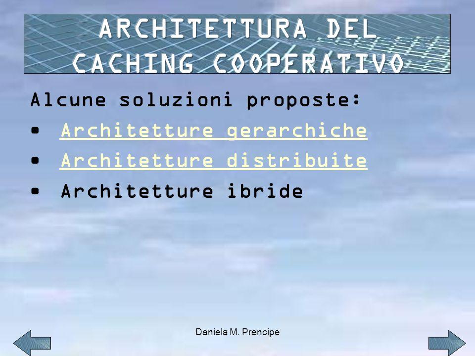 ARCHITETTURA DEL CACHING COOPERATIVO
