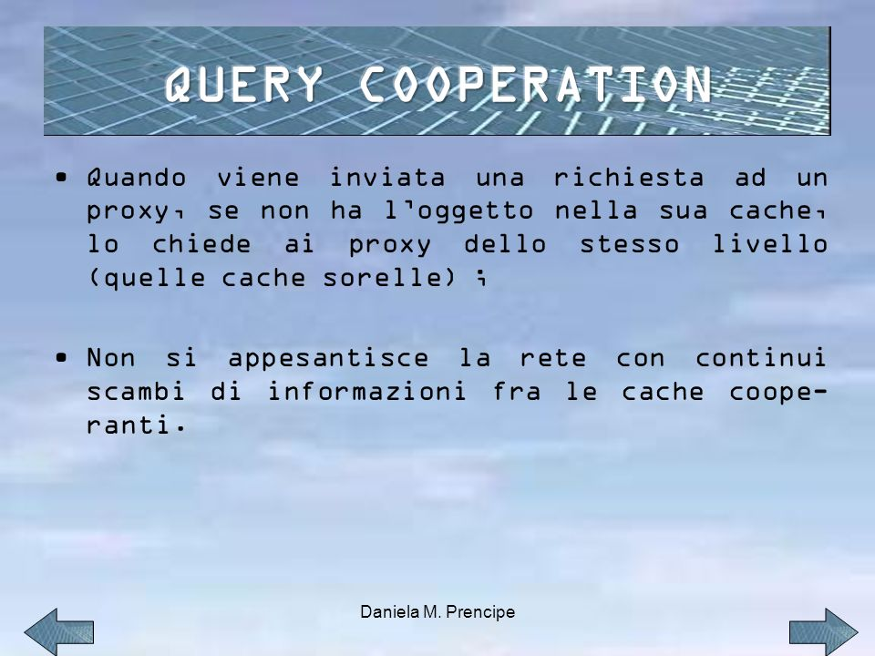 QUERY COOPERATION