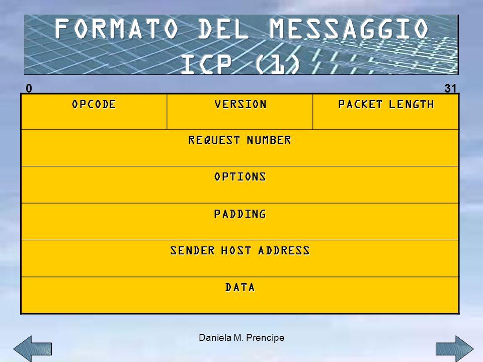 FORMATO DEL MESSAGGIO ICP (1)