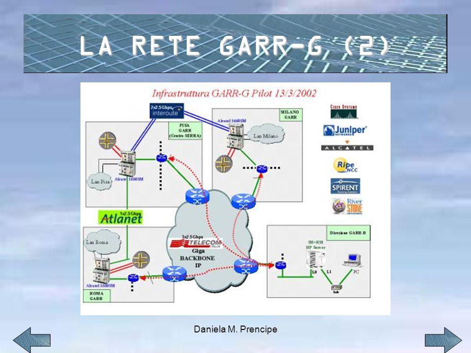 LA RETE GARR-G (2) Daniela M. Prencipe