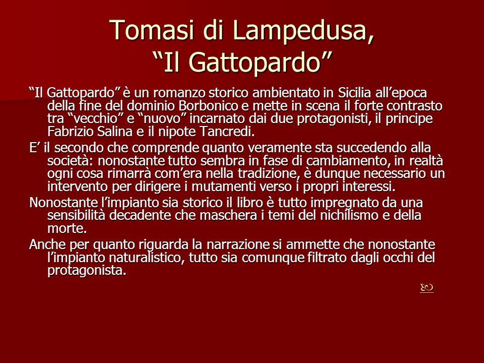 Tomasi di Lampedusa, Il Gattopardo
