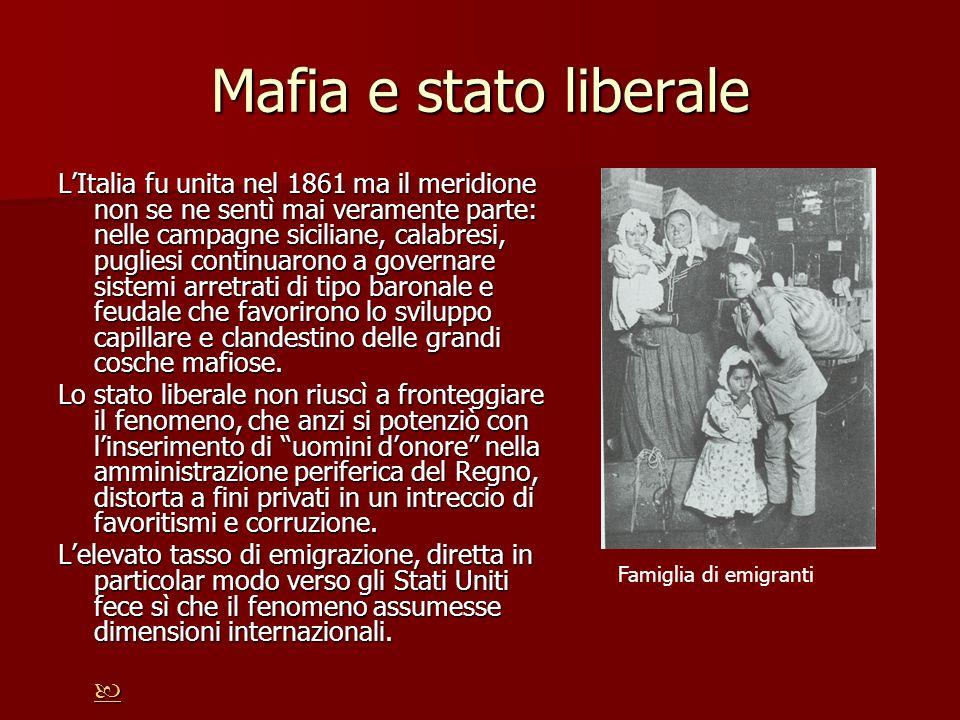 Mafia e stato liberale