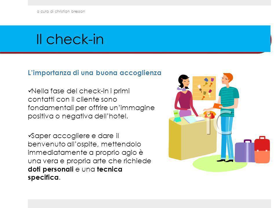 Il check-in L'importanza di una buona accoglienza