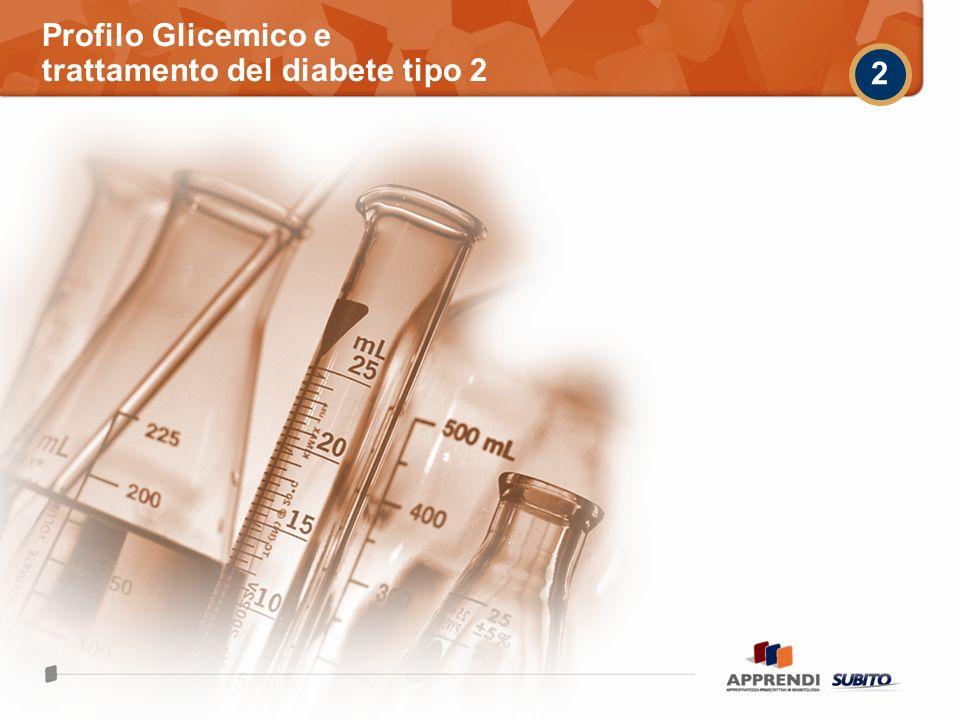 Profilo Glicemico e trattamento del diabete tipo 2