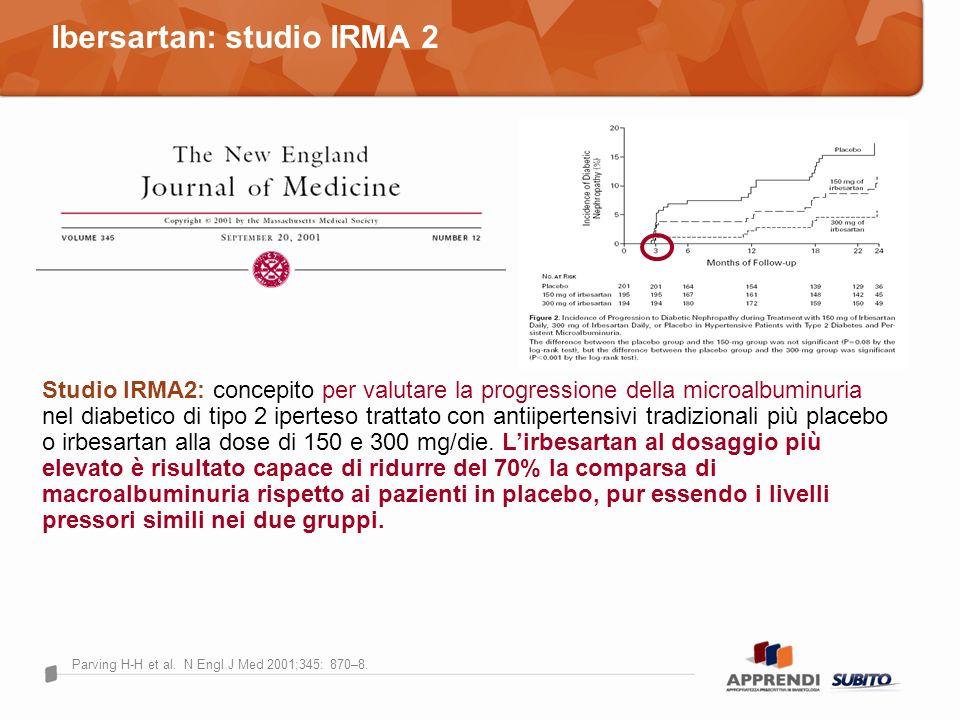 Ibersartan: studio IRMA 2