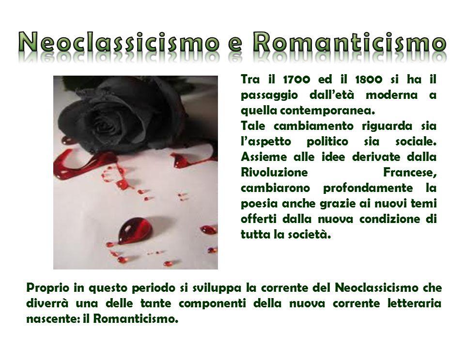 Neoclassicismo e Romanticismo