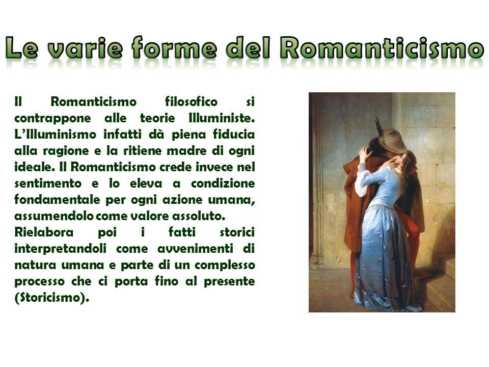 Le varie forme del Romanticismo