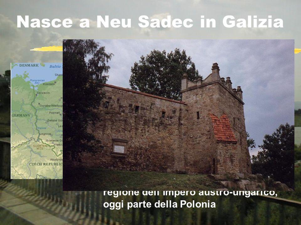 Nasce a Neu Sadec in Galizia