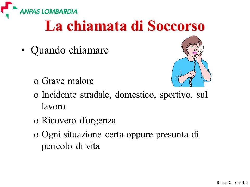 La chiamata di Soccorso