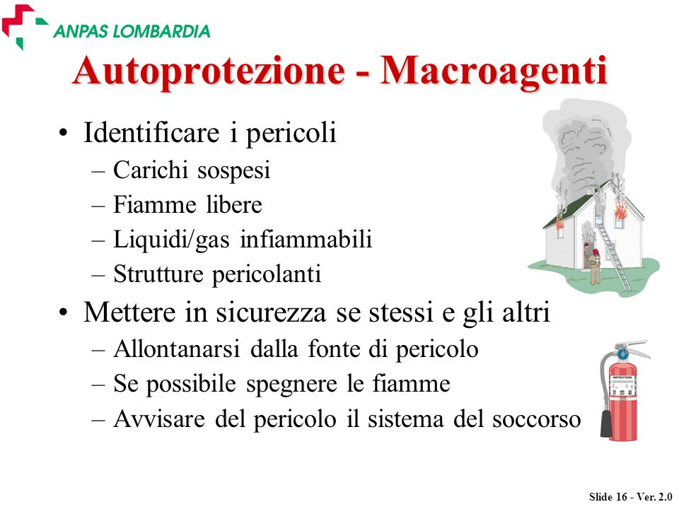 Autoprotezione - Macroagenti