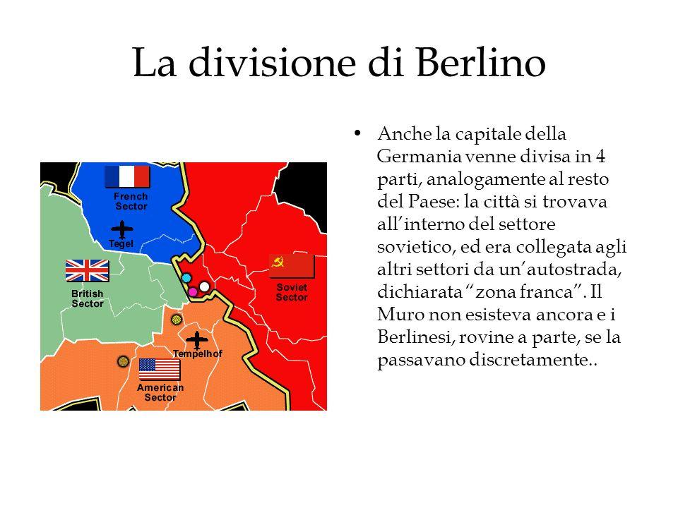 La divisione di Berlino