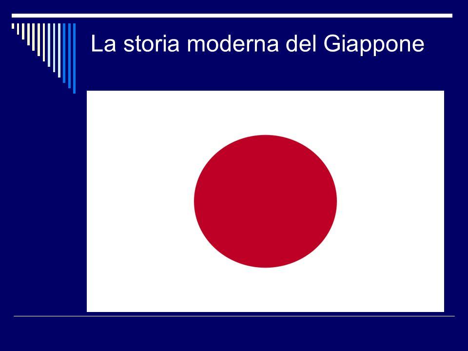 La storia moderna del Giappone