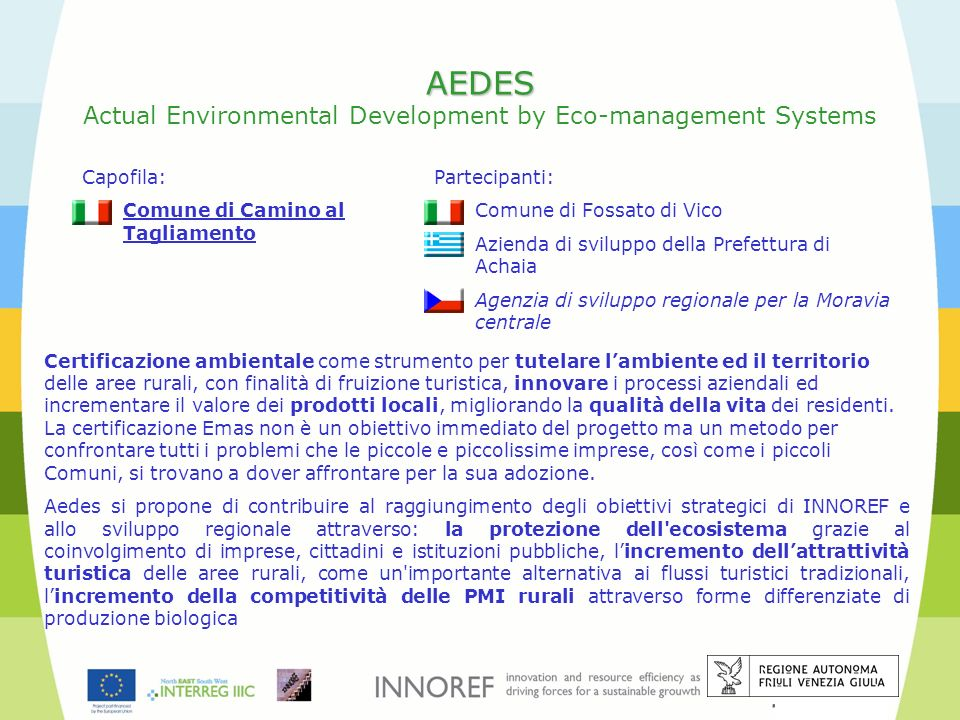 AEDES Actual Environmental Development by Eco-management Systems