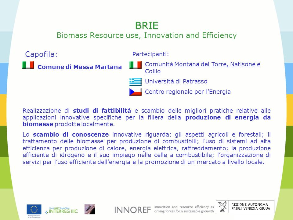 BRIE Biomass Resource use, Innovation and Efficiency