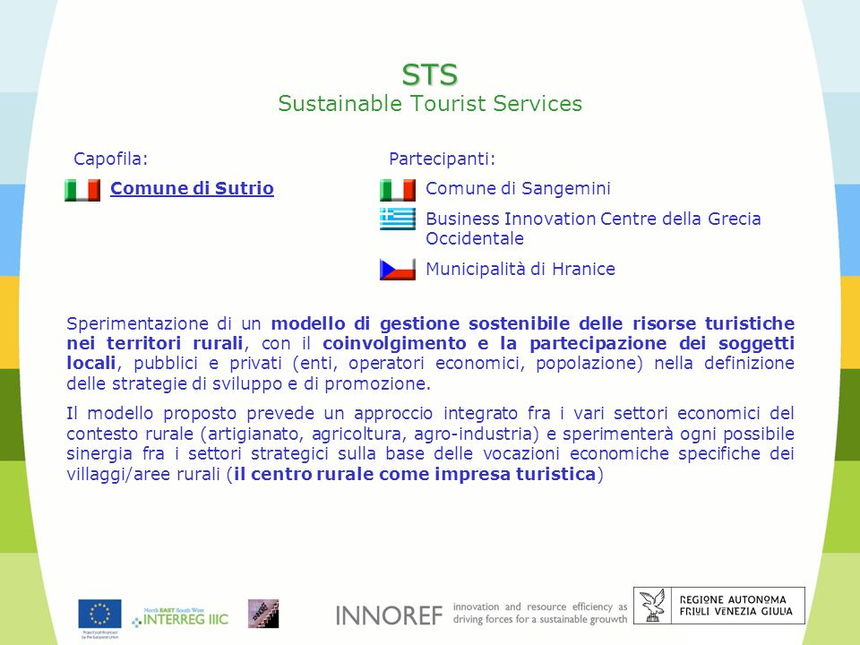 STS Sustainable Tourist Services