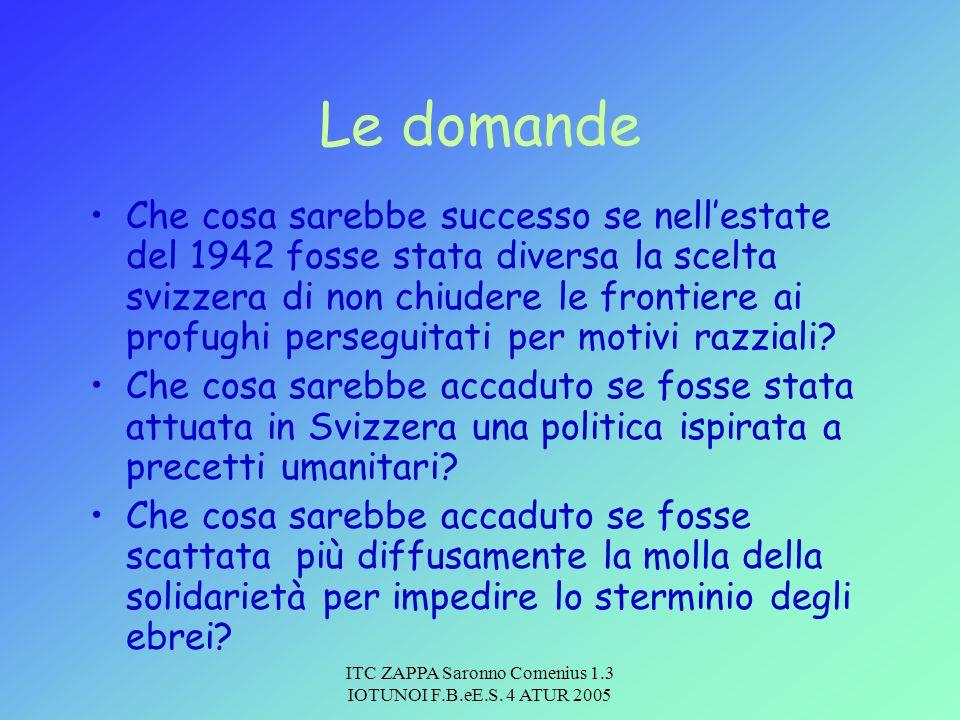 ITC ZAPPA Saronno Comenius 1.3 IOTUNOI F.B.eE.S. 4 ATUR 2005