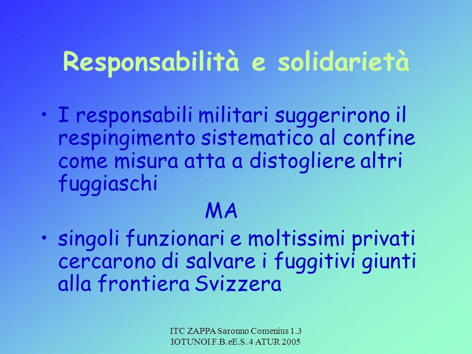 Responsabilità e solidarietà