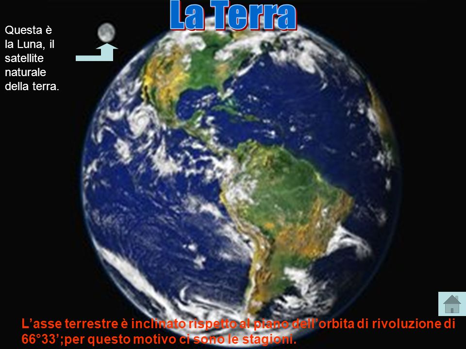 La Terra Questa è la Luna, il satellite naturale della terra.
