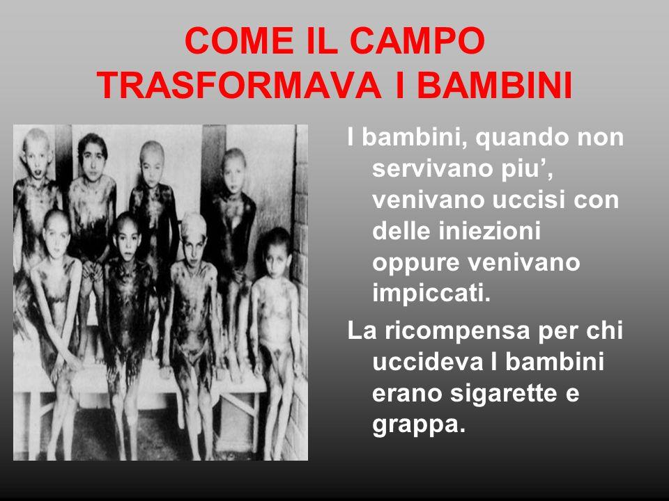 COME IL CAMPO TRASFORMAVA I BAMBINI