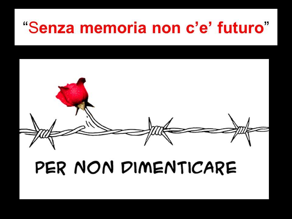 Senza memoria non c'e' futuro
