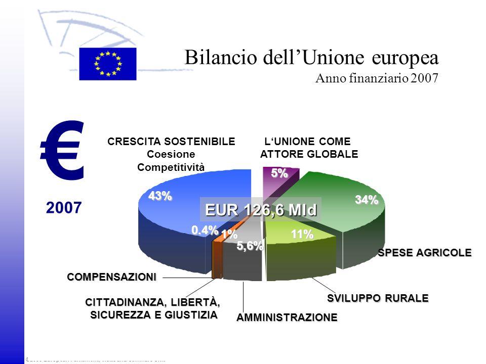 Bilancio dell'Unione europea Anno finanziario 2007