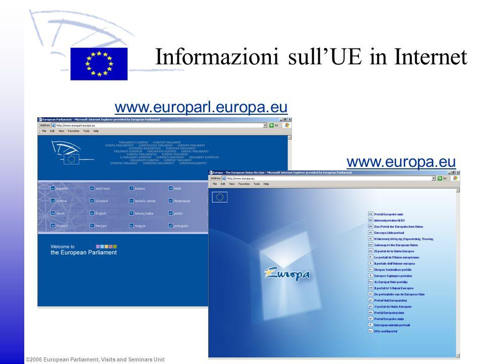 Informazioni sull'UE in Internet