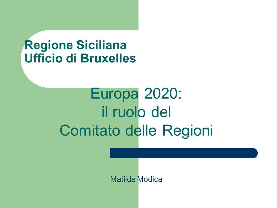 Regione Siciliana Ufficio di Bruxelles