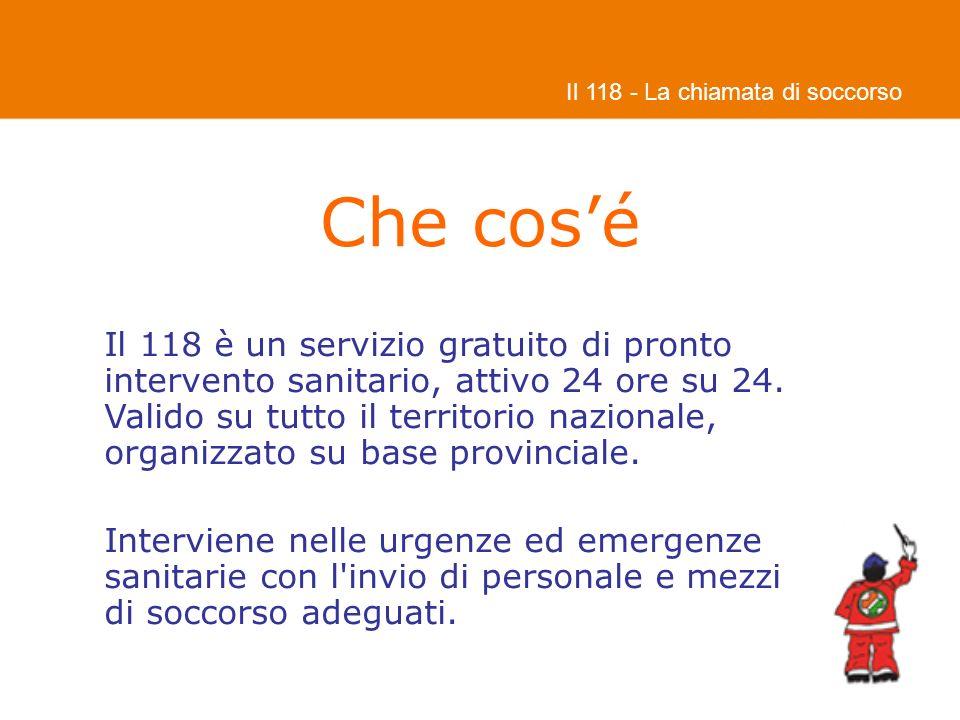 Il 118 - La chiamata di soccorso