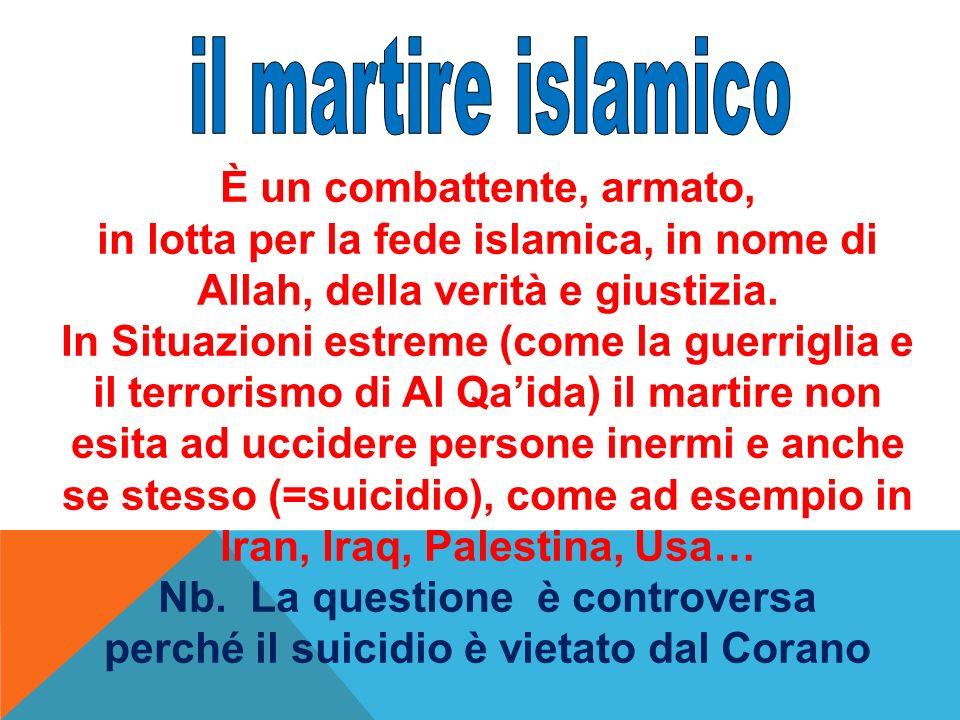 il martire islamico