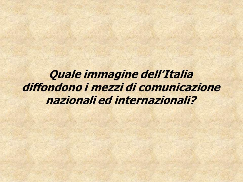 Quale immagine dell'Italia