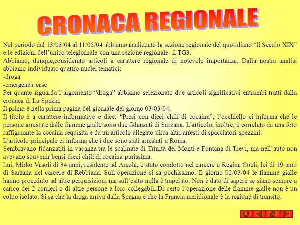 CRONACA REGIONALE