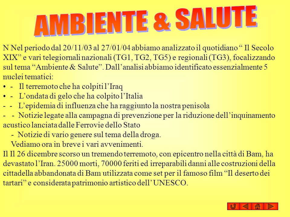 AMBIENTE & SALUTE