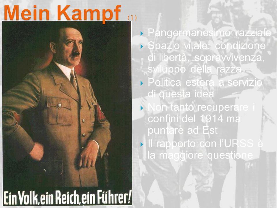 Mein Kampf (1) Pangermanesimo razziale