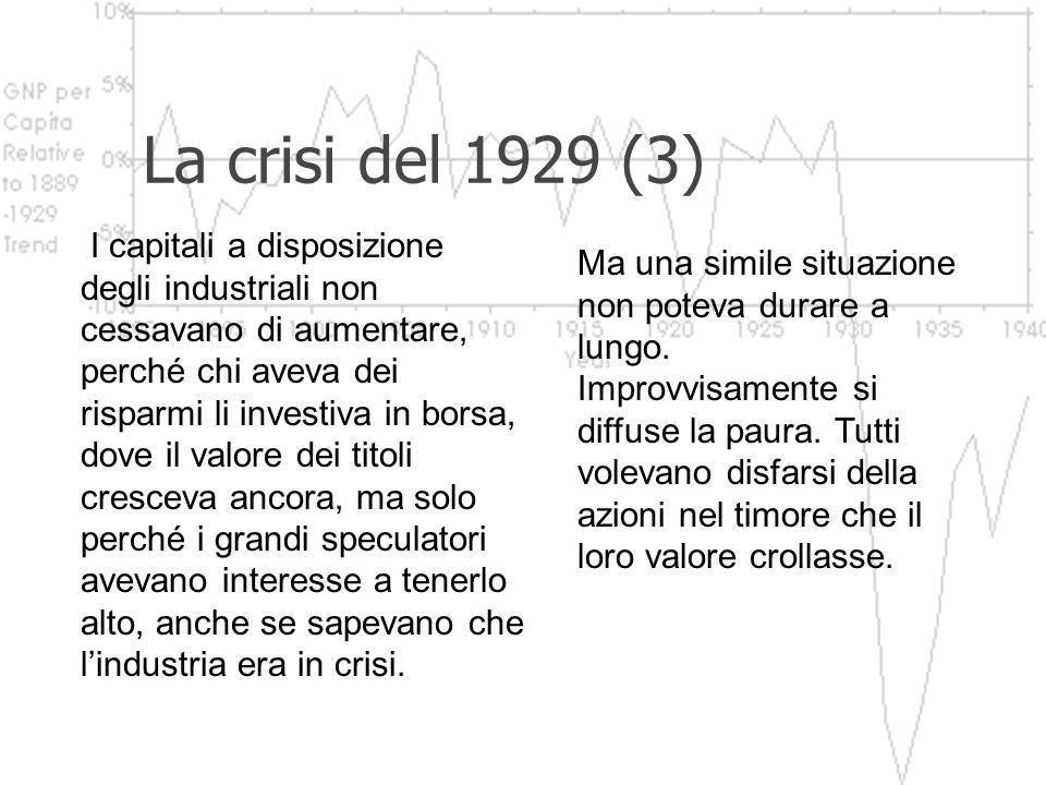 La crisi del 1929 (3)