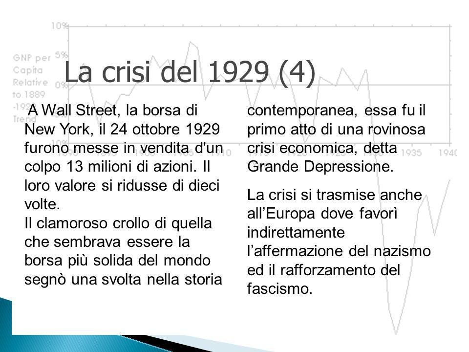 La crisi del 1929 (4)