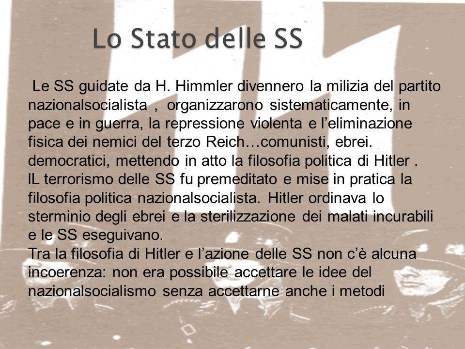 Lo Stato delle SS