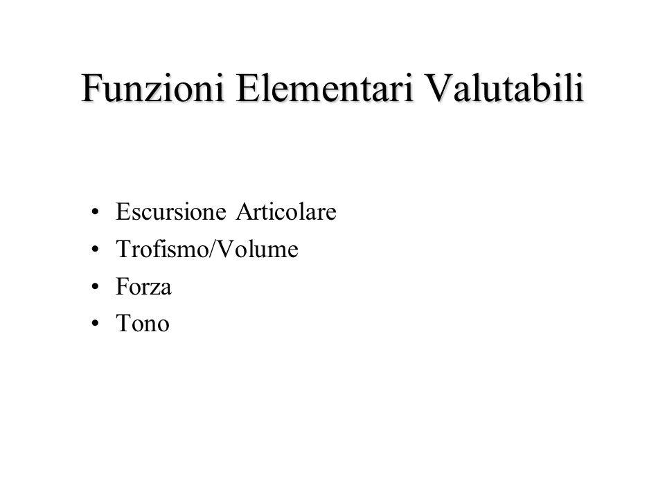 Funzioni Elementari Valutabili