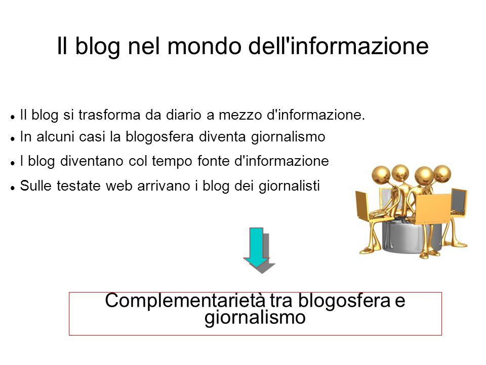 Il blog nel mondo dell informazione
